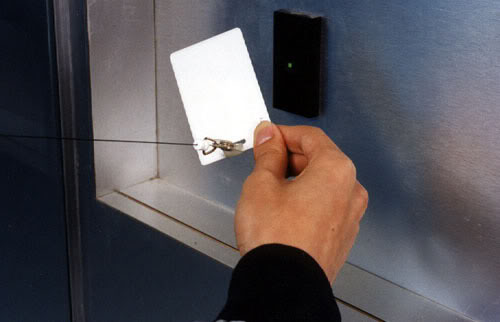 key fob for an access control system