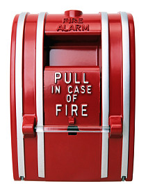 pull station for fire alarm monitoring